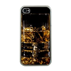 Drink Good Whiskey Apple iPhone 4 Case (Clear)