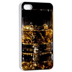 Drink Good Whiskey Apple iPhone 4/4s Seamless Case (White)