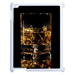 Drink Good Whiskey Apple iPad 2 Case (White)