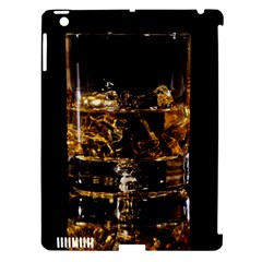 Drink Good Whiskey Apple iPad 3/4 Hardshell Case (Compatible with Smart Cover)