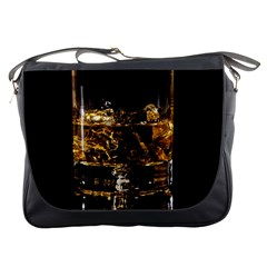 Drink Good Whiskey Messenger Bags