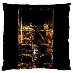 Drink Good Whiskey Large Cushion Case (One Side)