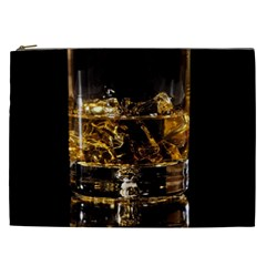 Drink Good Whiskey Cosmetic Bag (XXL)