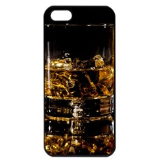 Drink Good Whiskey Apple iPhone 5 Seamless Case (Black)