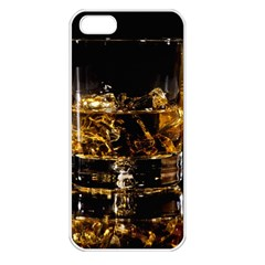 Drink Good Whiskey Apple iPhone 5 Seamless Case (White)