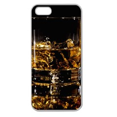 Drink Good Whiskey Apple Seamless iPhone 5 Case (Clear)