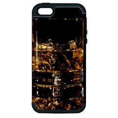 Drink Good Whiskey Apple iPhone 5 Hardshell Case (PC+Silicone)