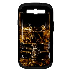 Drink Good Whiskey Samsung Galaxy S III Hardshell Case (PC+Silicone)