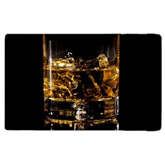 Drink Good Whiskey Apple Ipad 2 Flip Case