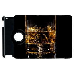 Drink Good Whiskey Apple iPad 2 Flip 360 Case