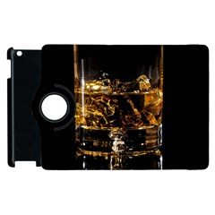 Drink Good Whiskey Apple iPad 3/4 Flip 360 Case