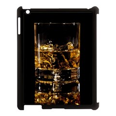 Drink Good Whiskey Apple iPad 3/4 Case (Black)