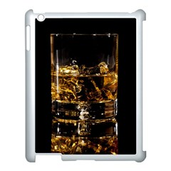 Drink Good Whiskey Apple iPad 3/4 Case (White)