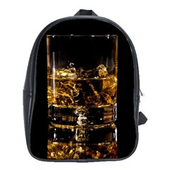 Drink Good Whiskey School Bags (XL)