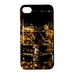 Drink Good Whiskey Apple iPhone 4/4S Hardshell Case with Stand