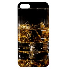 Drink Good Whiskey Apple iPhone 5 Hardshell Case with Stand