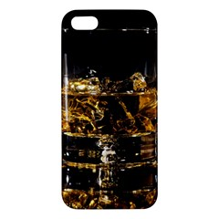 Drink Good Whiskey Apple iPhone 5 Premium Hardshell Case