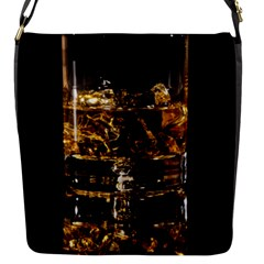 Drink Good Whiskey Flap Messenger Bag (S)