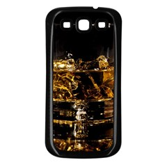 Drink Good Whiskey Samsung Galaxy S3 Back Case (Black)