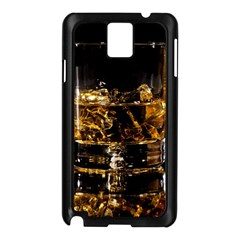 Drink Good Whiskey Samsung Galaxy Note 3 N9005 Case (Black)