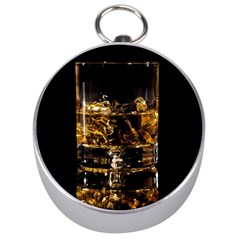Drink Good Whiskey Silver Compasses