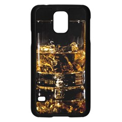 Drink Good Whiskey Samsung Galaxy S5 Case (Black)