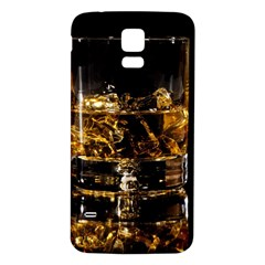 Drink Good Whiskey Samsung Galaxy S5 Back Case (White)
