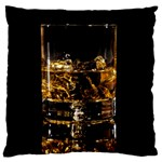 Drink Good Whiskey Standard Flano Cushion Case (Two Sides) Back