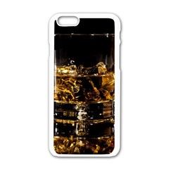 Drink Good Whiskey Apple iPhone 6/6S White Enamel Case