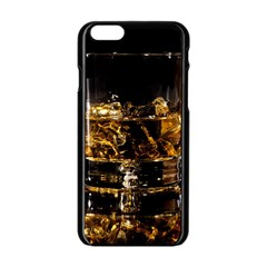 Drink Good Whiskey Apple iPhone 6/6S Black Enamel Case