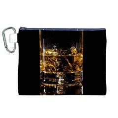 Drink Good Whiskey Canvas Cosmetic Bag (XL)