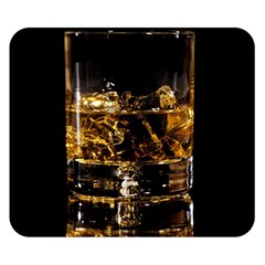 Drink Good Whiskey Double Sided Flano Blanket (Small)