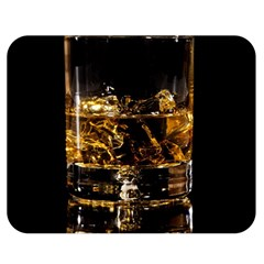 Drink Good Whiskey Double Sided Flano Blanket (Medium)