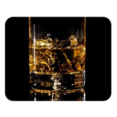 Drink Good Whiskey Double Sided Flano Blanket (Large)