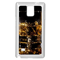 Drink Good Whiskey Samsung Galaxy Note 4 Case (White)