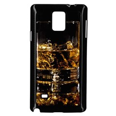 Drink Good Whiskey Samsung Galaxy Note 4 Case (Black)