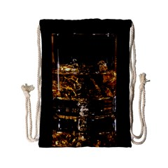 Drink Good Whiskey Drawstring Bag (Small)