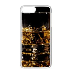 Drink Good Whiskey Apple iPhone 7 Plus White Seamless Case