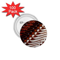 Traditional Batik Sarong 1.75  Buttons (100 pack)