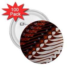 Traditional Batik Sarong 2.25  Buttons (100 pack)