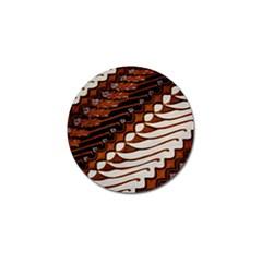 Traditional Batik Sarong Golf Ball Marker (10 pack)
