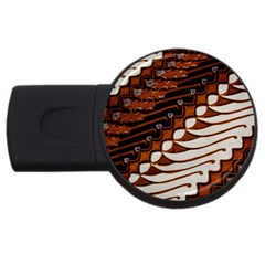 Traditional Batik Sarong USB Flash Drive Round (2 GB)