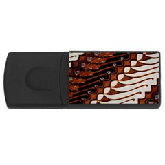 Traditional Batik Sarong USB Flash Drive Rectangular (1 GB)