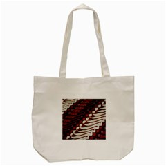 Traditional Batik Sarong Tote Bag (Cream)