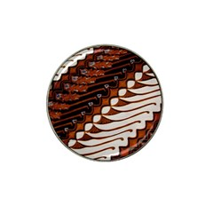 Traditional Batik Sarong Hat Clip Ball Marker