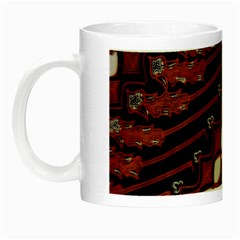 Traditional Batik Sarong Night Luminous Mugs