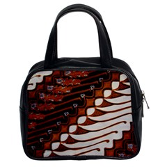 Traditional Batik Sarong Classic Handbags (2 Sides)