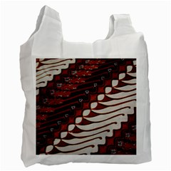 Traditional Batik Sarong Recycle Bag (One Side)