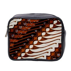Traditional Batik Sarong Mini Toiletries Bag 2-Side