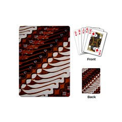 Traditional Batik Sarong Playing Cards (Mini)